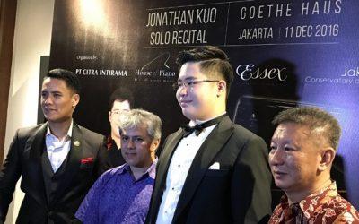 Jonathan Kuo Pukau Penonton Steinway Concert Series